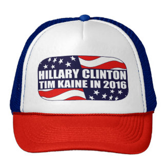 Hillary Clinton Tim Kaine 2016 Trucker Hat