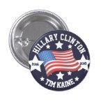 Hillary Clinton / Tim Kaine Button
