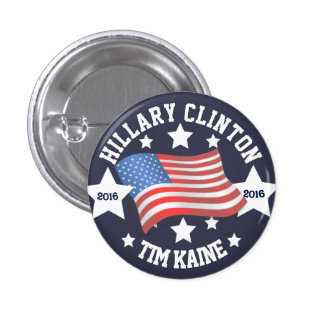 Hillary Clinton / Tim Kaine Button