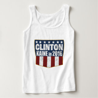 Hillary Clinton Tim Kaine in 2016 Basic Tank Top