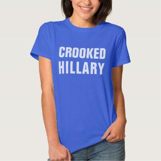 Hillary Clinton torcida Camisas