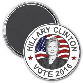 Hillary Clinton US Flag Magnet