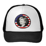 hillary clinton : us flag : picturesque : trucker hat