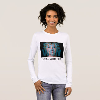 Hillary Clinton won the majority. Long Sleeve T-Shirt