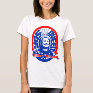 Hillary Clinton Yas Queen Shirt Color