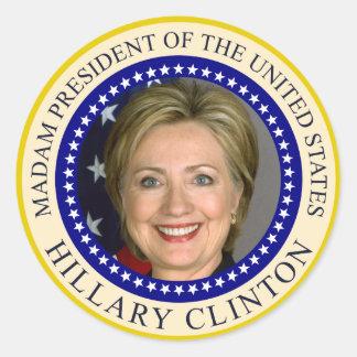 Hillary Clinton's presidential seal