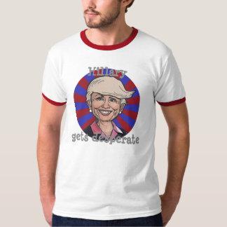 Hillary consigue a pelo del desesperado-Triunfo la Polera