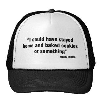 Hillary Cookies Trucker Hat