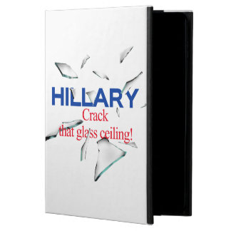 Hillary, Crack that glass ceiling Powis iPad Air 2 Case