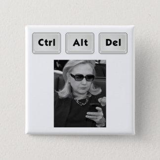 Hillary: Ctrl-Alt-Del Button