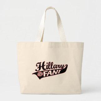 Hillary de 'bolso 08 fans bolsa tela grande