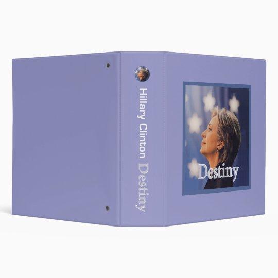 Hillary DESTINY Binder