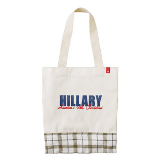 Hillary el 45.o. Presidente Bolsa Tote Zazzle HEART