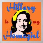 Hillary es mi poster del Homegirl