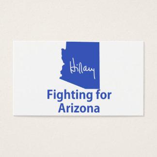 Hillary Fighting for Arizona Business Card