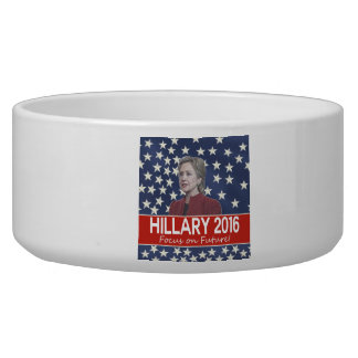 Hillary Focus on Future Bowl