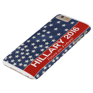Hillary Focus on Future Barely There iPhone 6 Plus Case