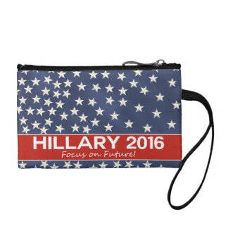 Hillary Focus on Future Coin Wallets