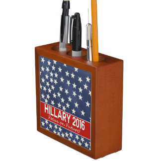 Hillary Focus on Future Desk Organizer