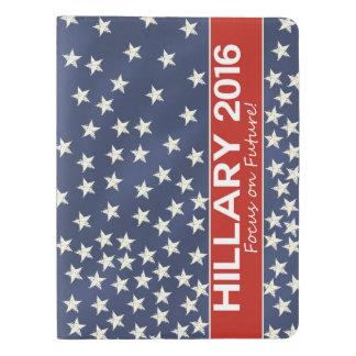 Hillary Focus on Future Extra Large Moleskine Notebook