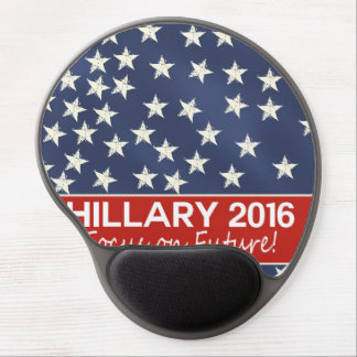 Hillary Focus on Future Gel Mouse Pad