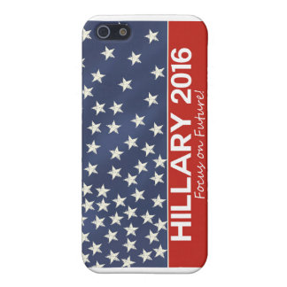 Hillary Focus on Future iPhone 5 Covers