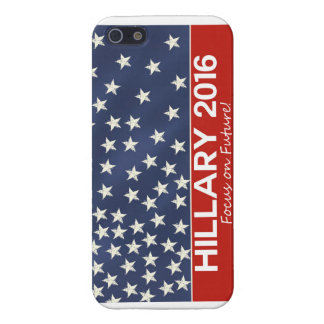 Hillary Focus on Future iPhone 5 Cover