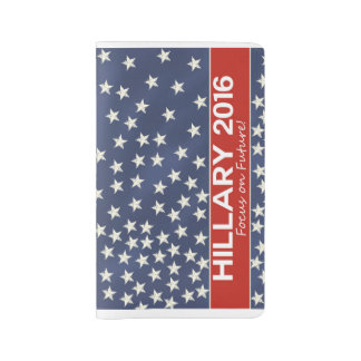 Hillary Focus on Future Large Moleskine Notebook