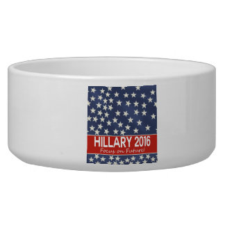 Hillary Focus on Future Dog Food Bowls