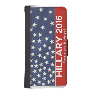 Hillary Focus on Future Phone Wallets