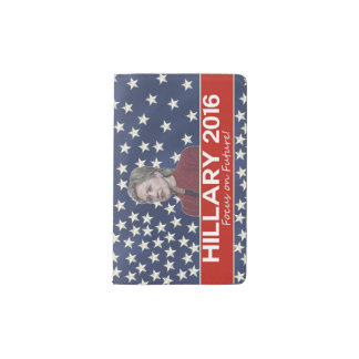Hillary Focus on Future Pocket Moleskine Notebook