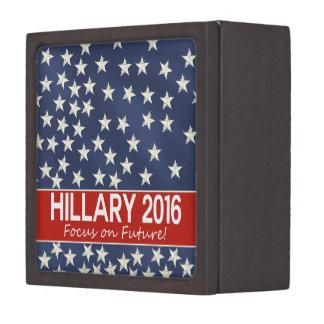 Hillary Focus on Future Premium Keepsake Box