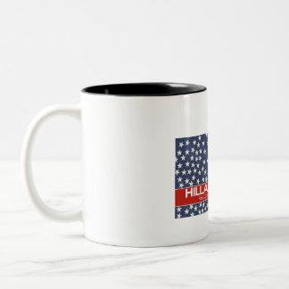 Hillary Focus on Future Two-Tone Coffee Mug
