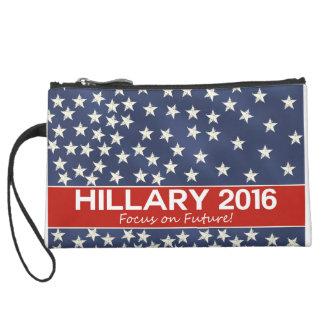 Hillary Focus on Future Wristlet Clutch