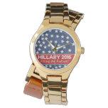 Hillary Focus on Future Wristwatches
