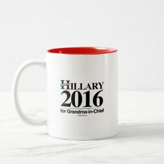 Hillary for Grandma-in-Chief Coffee Mug