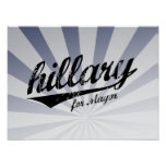 HILLARY FOR MAYOR JERSEY -.png Posters