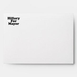 HILLARY FOR MAYOR --.png Envelopes
