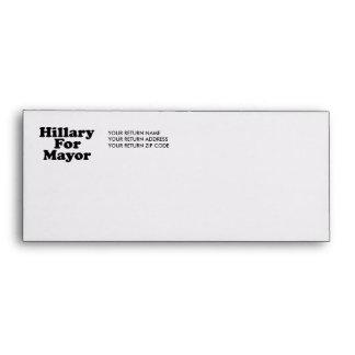 HILLARY FOR MAYOR --.png Envelope