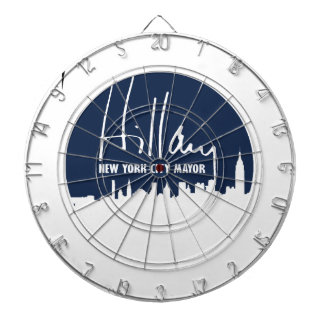 HILLARY FOR NEW YORK CITY MAYOR -.png Dartboards