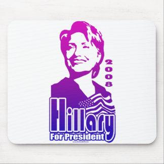 Hillary For President 2008 Mousepad
