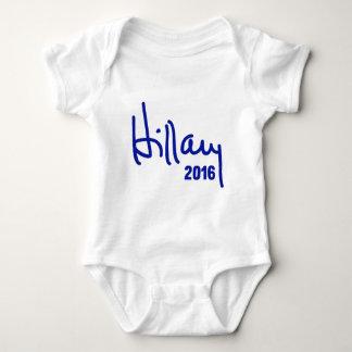 Hillary for President 2016 Baby Bodysuit