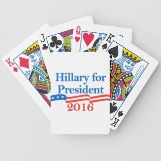 Hillary for President 2016 Bicycle Card Decks