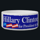 "Hillary for President 2016 Bowl<br><div class=""desc"">She started out as an attorney, became First Lady of United States, then ran and won to become the democratic senator for New York, then, Secretary of State of the United States! Nobody is better qualified and more respected than Hillary Rodham Clinton, and we want to show our love and...</div>"