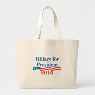 Hillary for President 2016 Canvas Bag