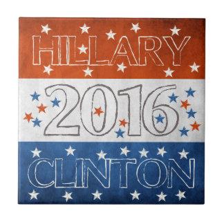 Hillary for President 2016 Ceramic Tile