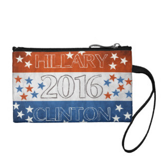 Hillary for President 2016 Change Purse