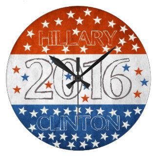 Hillary for President 2016 Wall Clocks