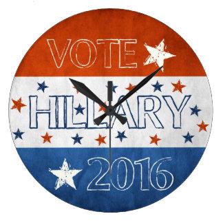 Hillary for President 2016 Clocks