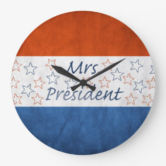 Hillary for President 2016 Wall Clock